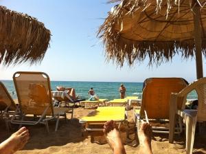 beach in katakolon