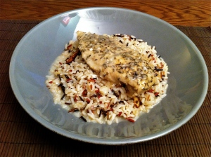 crock pot chicken and wild rice