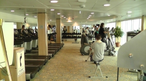 splendour of the seas workout room