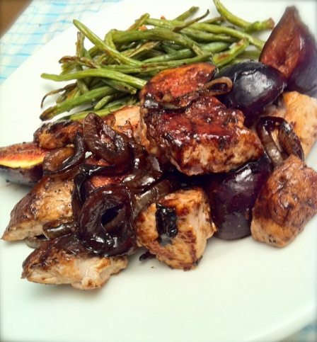 healthy pork and fig recipe